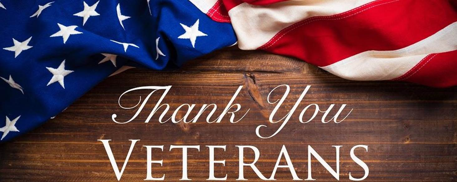 To All Veterans - Thank You So Much For Your Service ...